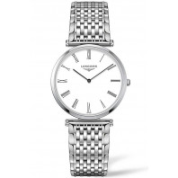 Longines La Grande Classique 33mm White & steel women's watch L47094216