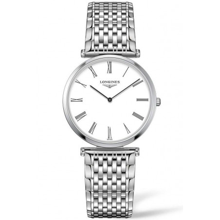 Longines La Grande Classique 33mm White & steel women's watch L47094216