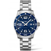 Longines - HydroConquest 39mm Quartz Blue & Steel Gent's Watch, L37304966