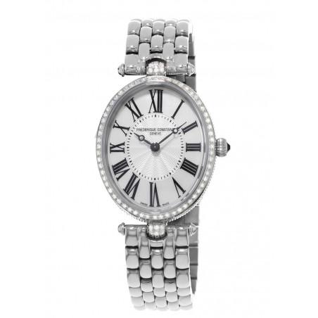 Frédérique Constant Classics Art Déco Oval 76 Diamonds 0.58 CT Ladies Watch,FC-200MPW2VD6B