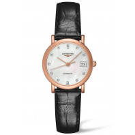 Longines Elegant Rose guld 12 Diamanter Damklocka L43788870