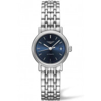 Longines  Presence 25mm Blue & Steel Bracelet,L43214926