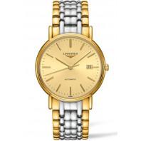 Longines Presence Golden & Bracelet with gold PVD Gent's Watch,L49212327