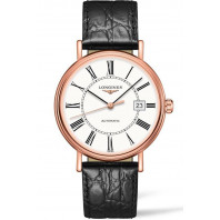 Longines - Presence 40mm White & Rose Gold PVD Gent's Watch,L49221112