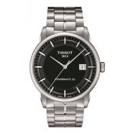 Tissot - Luxury Powermatic 80 Men's watch Black & Steel bracelet T0864071105100