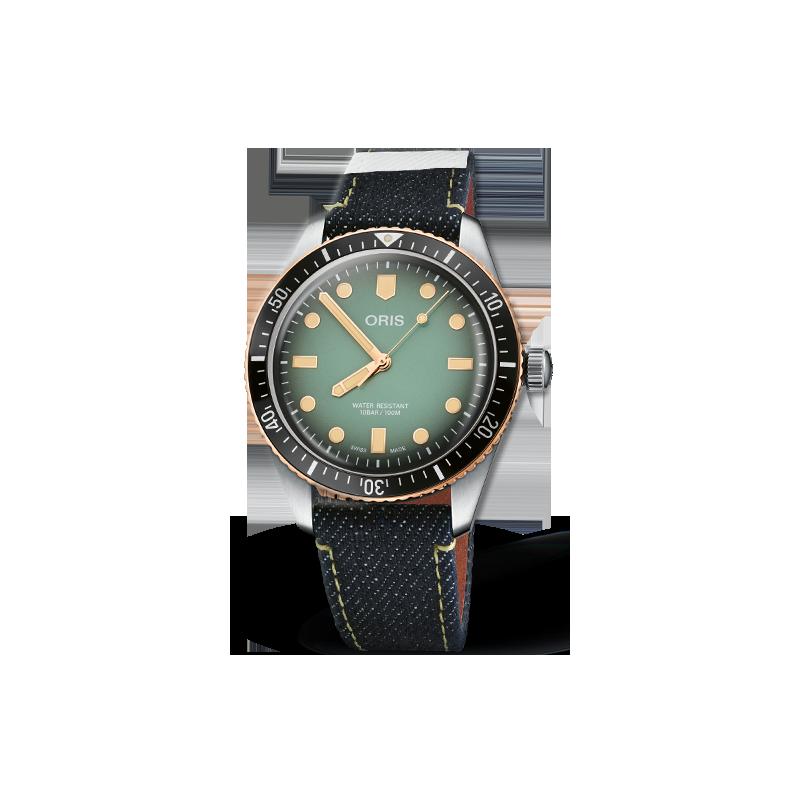 Oris - Divers Sixty-Five - ORIS X MOMOTARO 733 7707 4337-Set