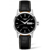 Longines - Heritage 1832 Annual Calendar black & Alligator Strap 40mm L48274520