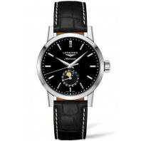 The Longines Heritage 1832  - Moonphase Black & Alligator, L48264520