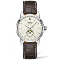 The Longines Heritage 1832  - Moonphase Beige  & Alligator L48264922