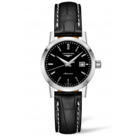 The Longines 1832- 30mm Black & Alligator, L43254520