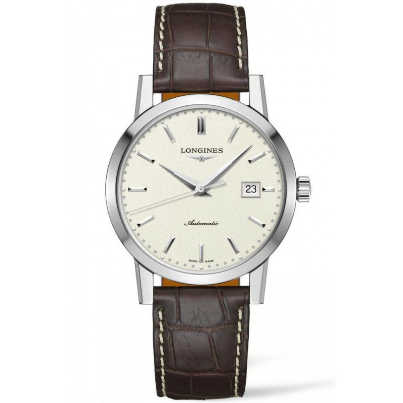The Longines 1832- 40mm beige & Alligator, L48254922