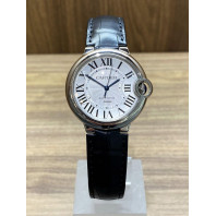 PRE-OWNED Cartier Ballon Bleu 36 mm,W69017Z4