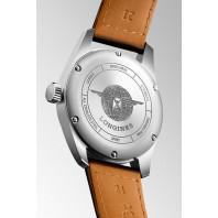 Longines Spirit - 40mm White dial & l leather straps, L38104732