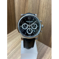 PRE-OWNED Mont blanc Time walker 43mm Chronograph,36063