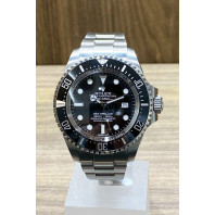PRE-OWNED Rolex Sea-Dweller Deepsea Black & Steel,116660