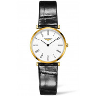 Longines - La Grande Classique 33mm Yellow Gold & Alligator strap,L45122112