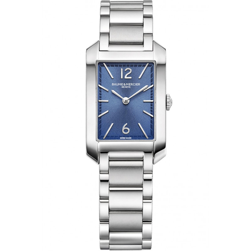 Baume & Mercier - Hampton Lady Quartz 22x34.1mm Opaline & Steel bracelet,M0A10476