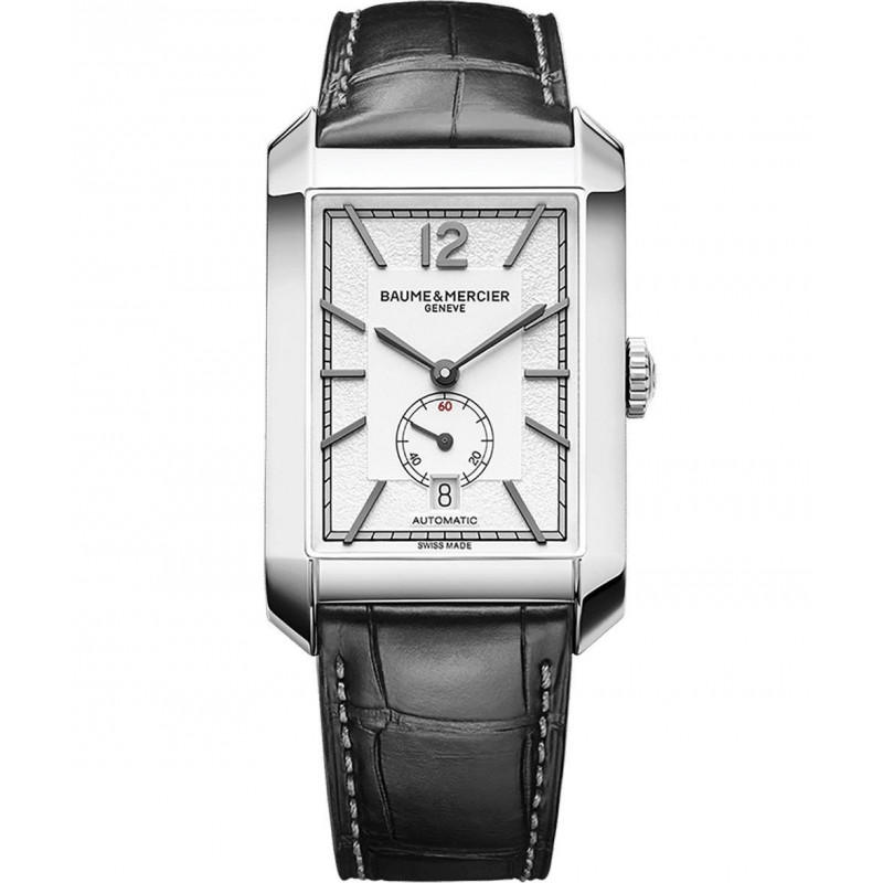 Baume & Mercier - Hampton Gents 31mm x 48mm Opaline Steel & Alligator,M0A10528