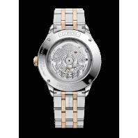 Baume & Mercier Clifton Baumatic White Steel & Rose Gold pvd M0A10458