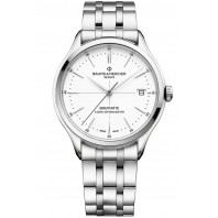 Baume & Mercier Clifton Baumatic White & Steel M0A10505