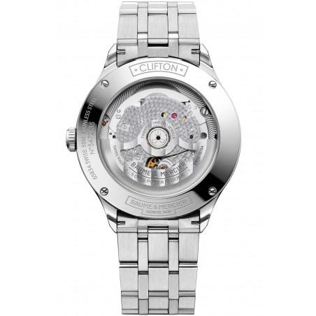 Baume & Mercier Clifton COSC Baumatic Grey & Bracelet M0A10551