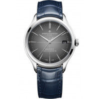 Baume & Mercier Clifton COSC Baumatic Grey & leather strap M0A10550