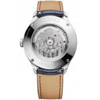 Baume & Mercier Clifton COSC Baumatic Grey & leather strap M0A10550