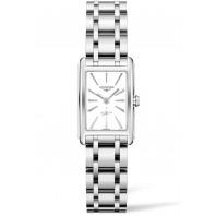 Longines - Dolce Vita White dial & Steel bracelet,L52554116