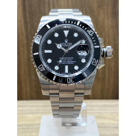 PRE-OWNED Rolex Submariner Date Black Year 2017 ref. BEG116610LN