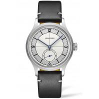Longines - Heritage Classic 38.5mm Silver & Två Läderband L28284730