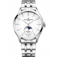 Baume & Mercier Clifton Baumatic  Moonphase Steel M0A10552