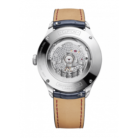Baume & Mercier Clifton Baumatic Moonphase Day & date Steel, M0A10548
