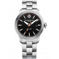 Baume & Mercier Clifton Club Quartz Black & Steel Diver 42mm M0A10412