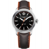 Baume & Mercier Clifton Club Kvartz Svart & Läderband Herrklocka 42mm, M0A10411