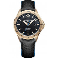 Baume & Mercier Clifton Club Automatic Bronze Black & Leather strap MOA10500