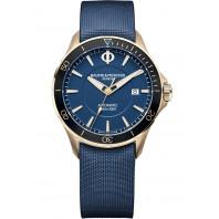 Baume & Mercier Clifton Club Automatic Bronze Blue & Rubber strap,MOA10502