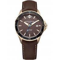 Baume & Mercier Clifton Club Automatic Bronze Brown & Leather strap,MOA10501
