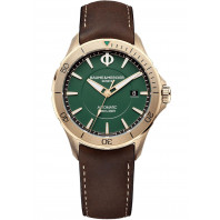 Baume & Mercier Clifton Club Automatic Bronze Green & Leather strap,MOA10503