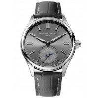 Frederique Constant Horological Smartwatch - 42 mm Steel & Leather strap-FC-285LGS5B6