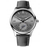Frederique Constand Horological Smartwatch-  34mm Stål & Läderband, FC-285LGS5B6