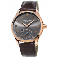 Frederique Constant Horological Smartwatch-  42mm Steel & Rose gold,FC-285LGS5B4