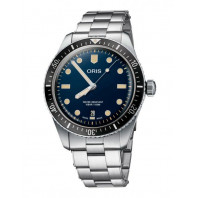 Oris Divers Sixty-Five 40mm Blue Dial & steel bracelet 733 7707 4055-07 8 20 18
