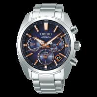 Seiko Astron GPS Solar 43mm Blå & Stål,SSH049J1