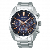Seiko Astron GPS Solar 43mm Blue & Steel-SSH049J1