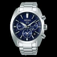 Seiko Astron GPS Solar 43mm Blue & Steel-SSH019J1
