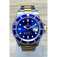 PRE-OWNED Rolex Submariner Steel & Gold 16613 ref. 16613