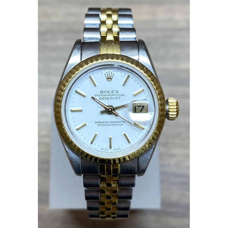 PRE-OWNED Rolex Lady-Datejust 69173