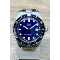 PRE-OWNED Oris Divers 65 Blue & Bracelet  733 7720 4055-07421