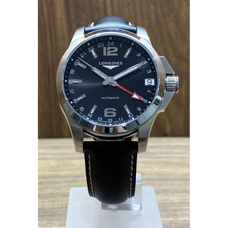 PRE-OWNED Longines Conquest GMT L36874566