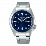 Seiko 5 Sports 40 mm Automatic Blue & Steel Bracelet SRPE53K1